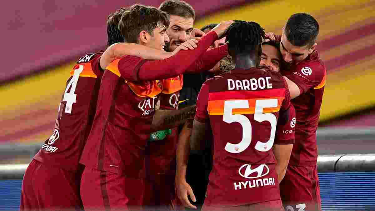 Рома – Лацио – 2:0 – видео голов и обзор матча