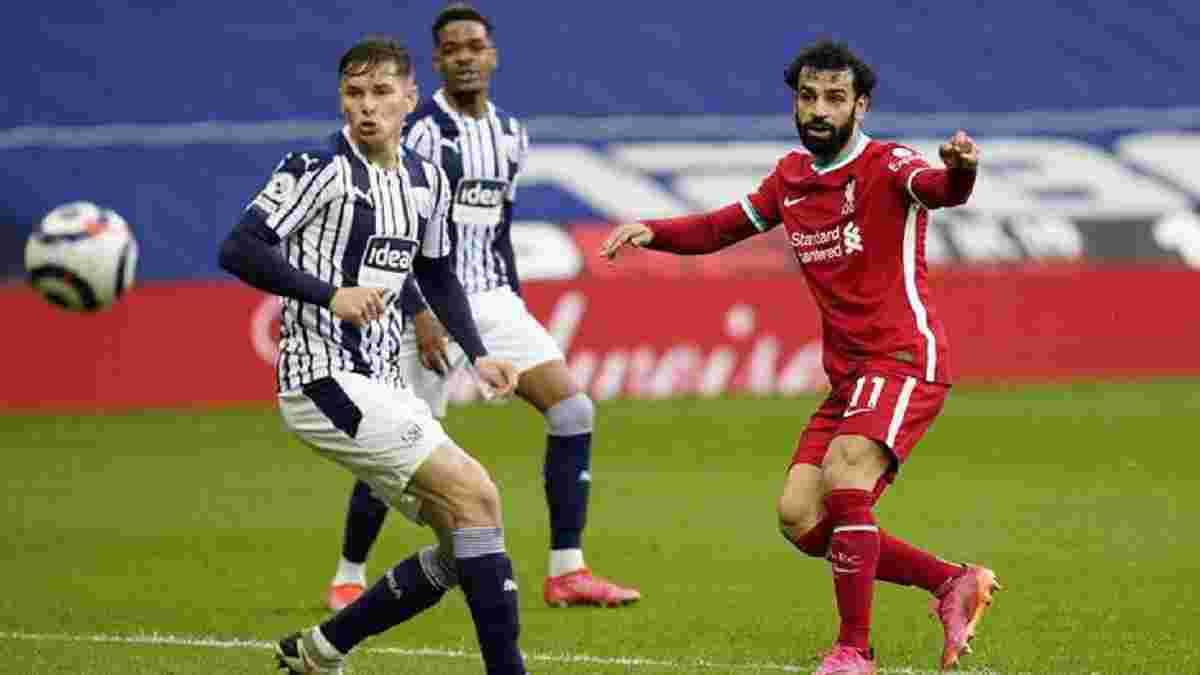 Ліверпуль завдяки голу Аліссона у доданий час врятував перемогу над Вест Бромвічем, Шеффілд сенсаційно переграв Евертон