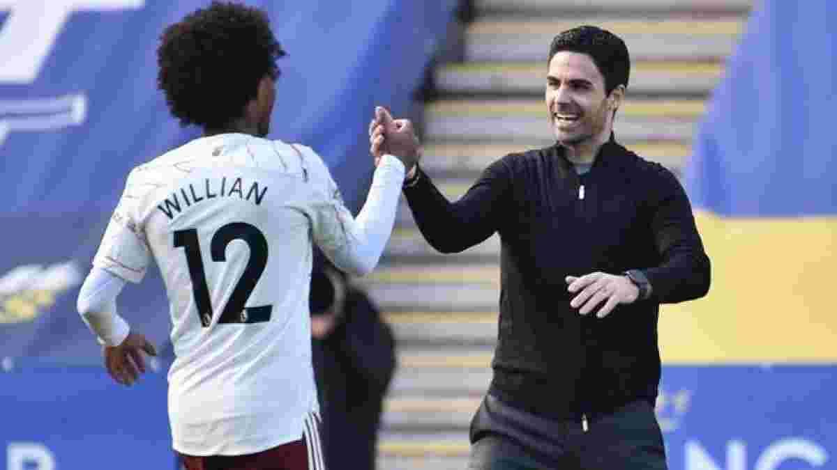 Арсенал готов расстаться с Виллианом, – журналист
