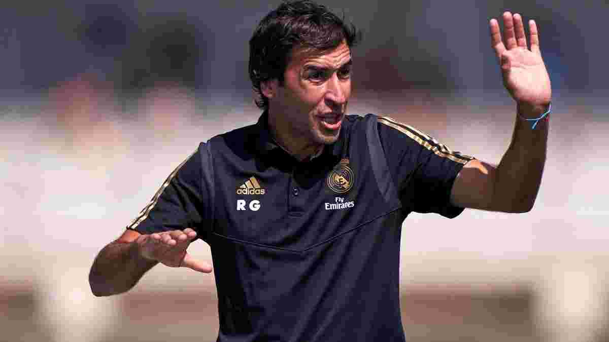 Рауль відреагував на чутки про своє призначення головним тренером Реала