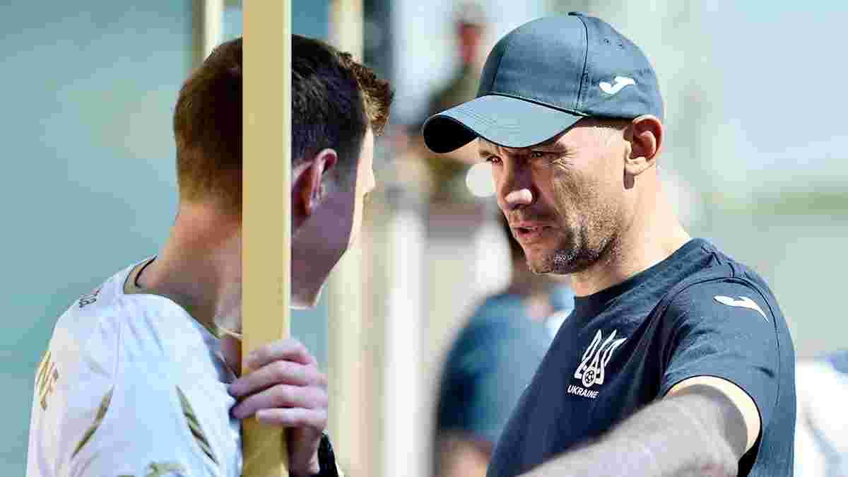 Шевченко готов довызвать в сборную Украины новых игроков