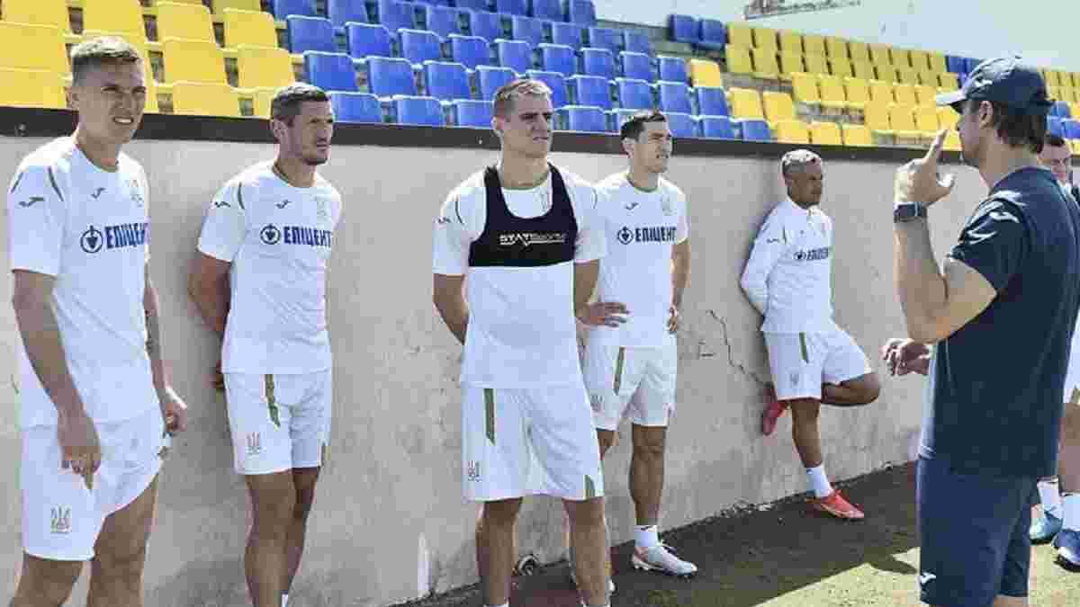 Бєсєдін та Шапаренко пропустили вечірнє тренування збірної України