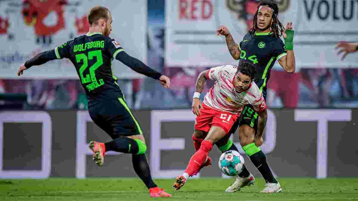 Бойова нічия з вольовими нотками у відеоогляді матчу РБ Лейпциг – Вольфсбург – 2:2