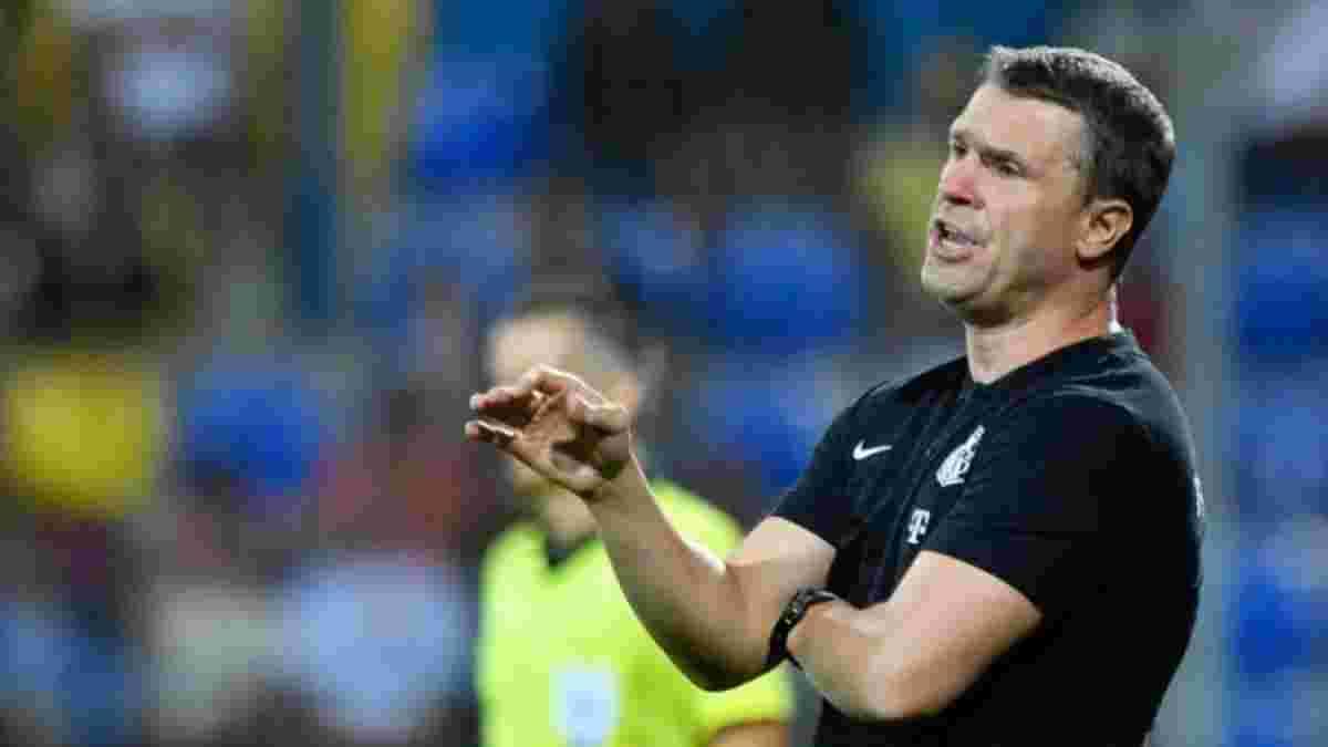 Ребров відхилив пропозицію європейського клубу через жорсткий ультиматум Ференцвароша