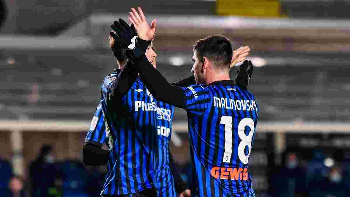 Аталанта оголосила заявку на фінал Кубка Італії проти Ювентуса – з Маліновським, але без Коваленка