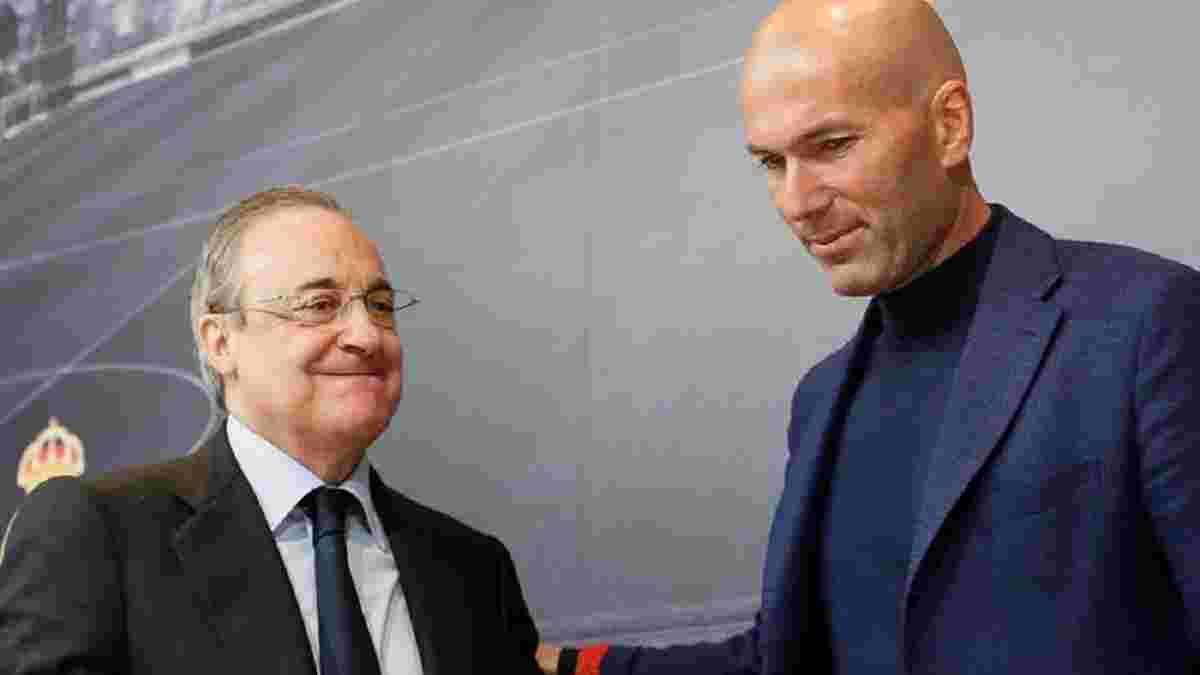 Перес не собирается увольнять Зидана – революцию может спровоцировать только сам главный тренер Реала