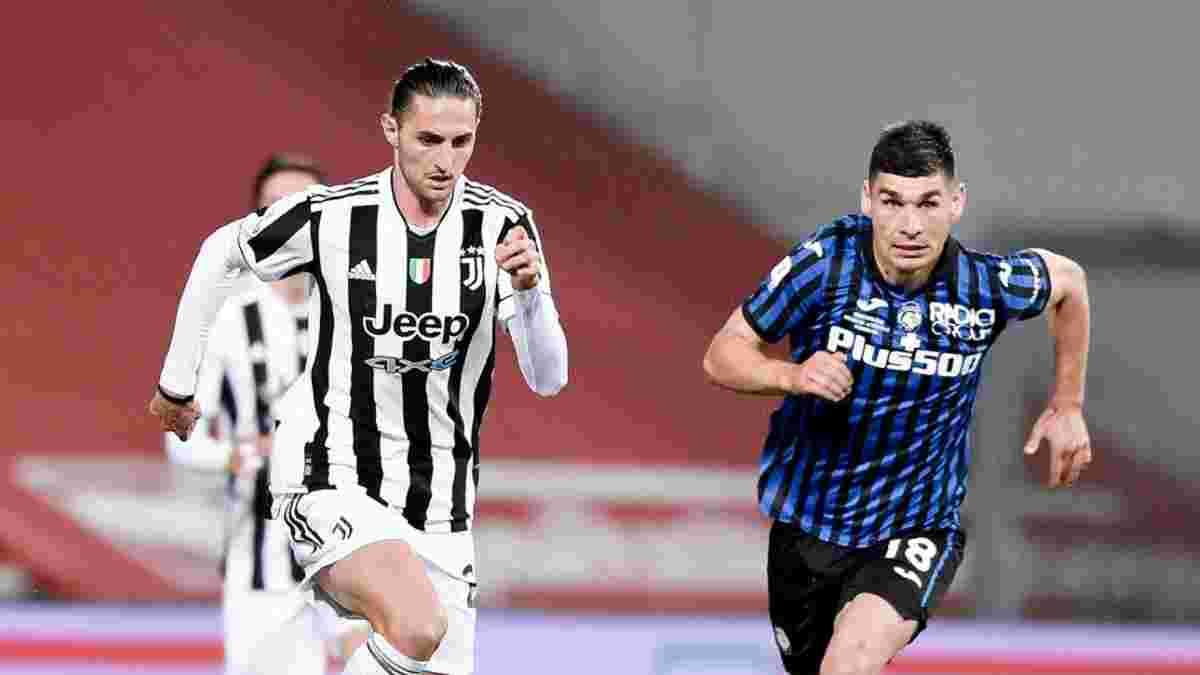 Малиновский забил пушечный гол – видеообзор финала Кубка Италии Аталанта – Ювентус – 1:2
