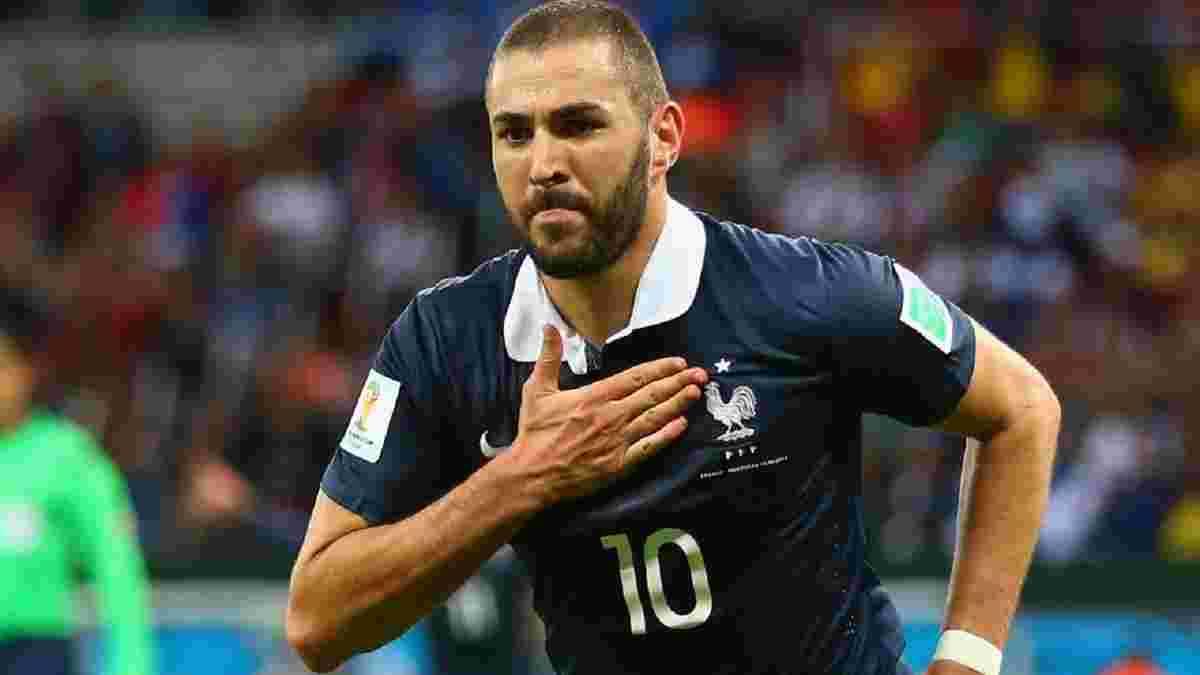 Бензема емоційно прокоментував повернення у збірну Франції після 6 років паузи