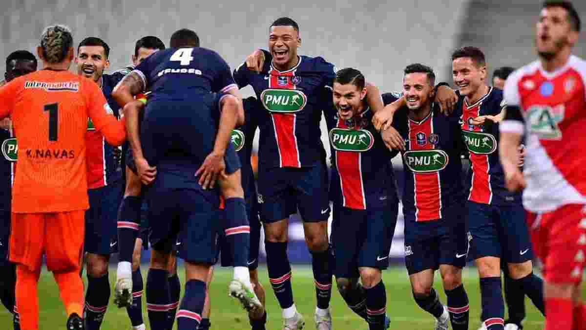 Вогняне шоу Мбаппе у відеоогляді фіналу Кубка Франції Монако – ПСЖ