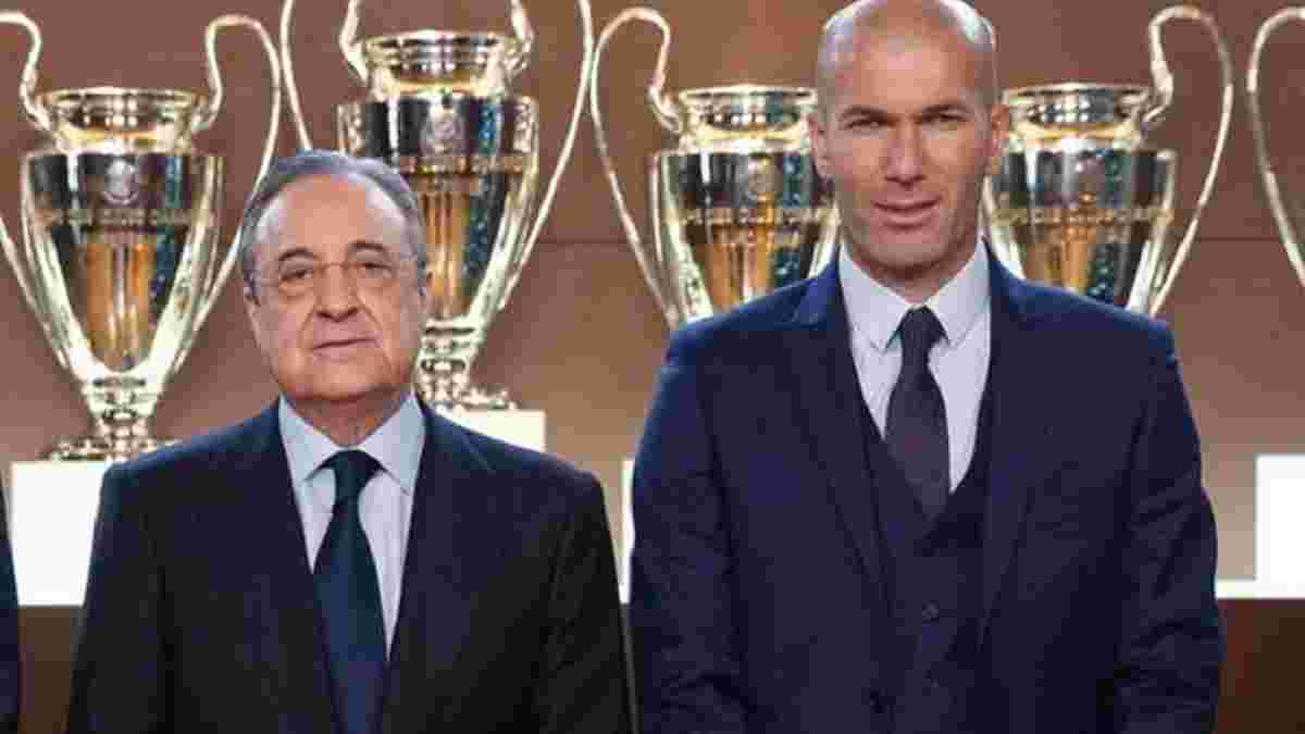 Зідан ініціював зустріч з Пересом – тренер Реала повідомить про свої майбутні плани
