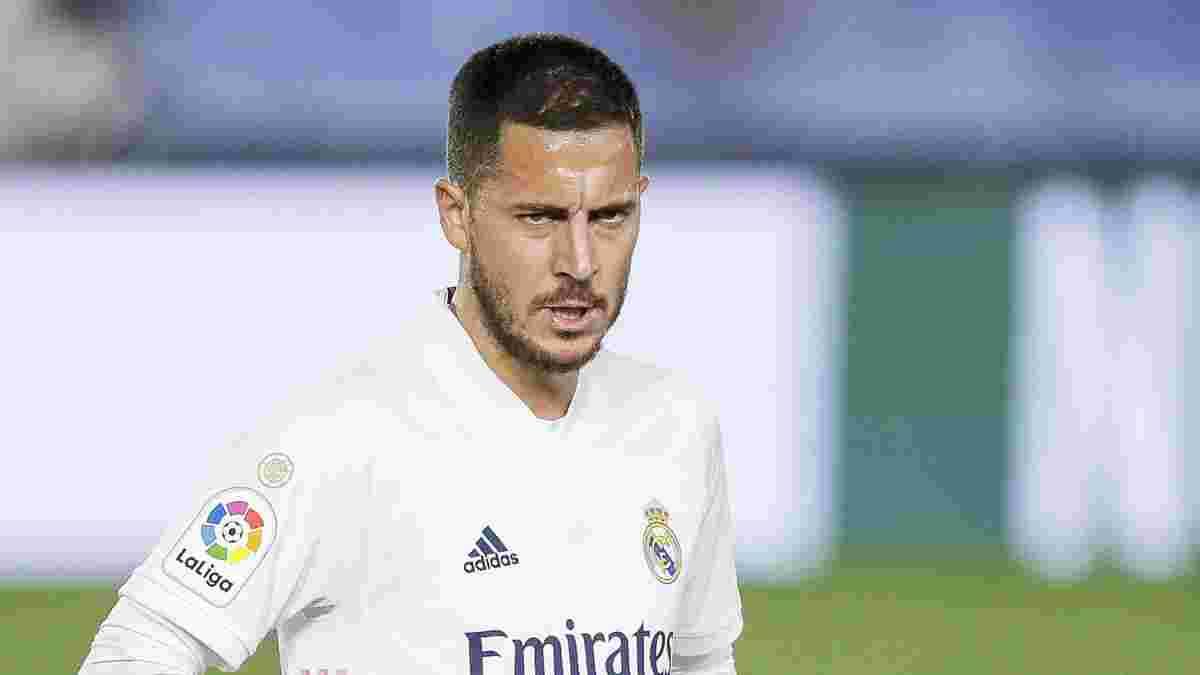 Азар знову травмувався – бельгієць пропустить найважливіший матч Реала у сезоні
