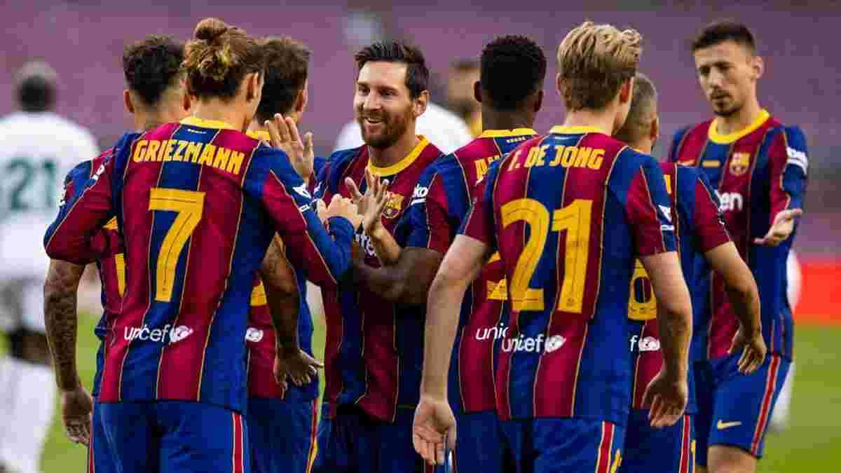 Барселона получила революционную форму для Лиги чемпионов