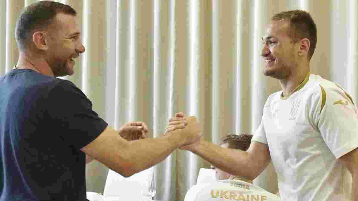 Макаренко: Самыми приятными моментами моей карьеры были вызовы в сборную Украины