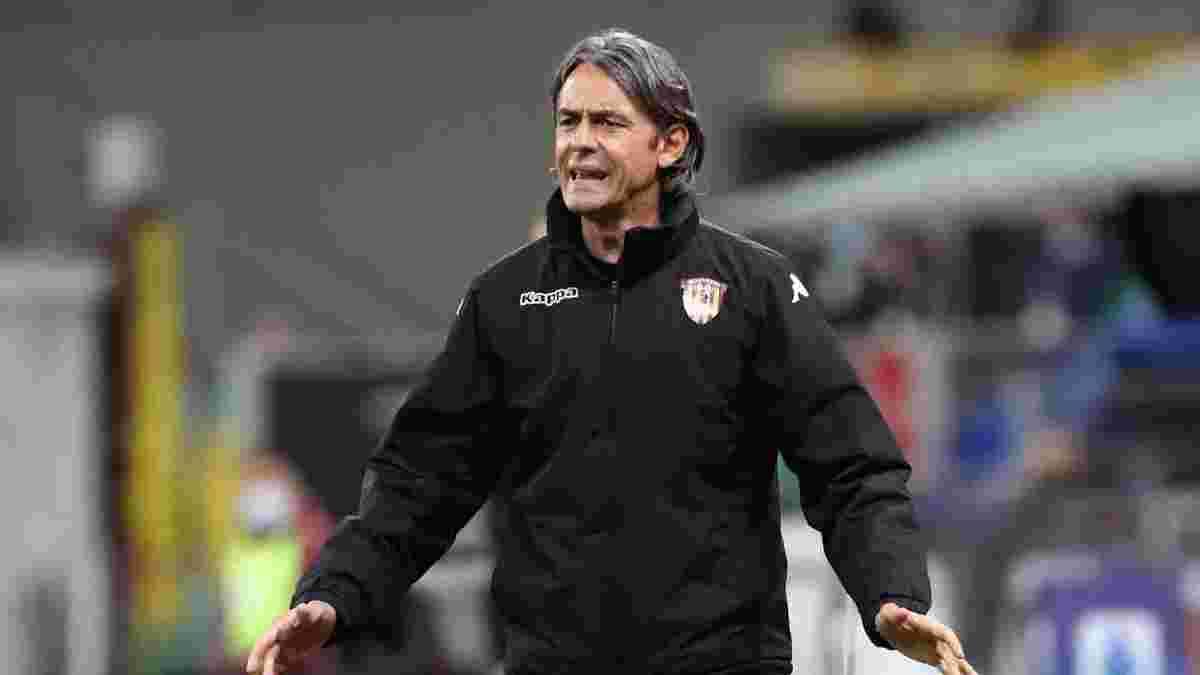 Индзаги-старший объявил о своем уходе из Беневенто – тренер бросил несколько жестких обвинений руководству