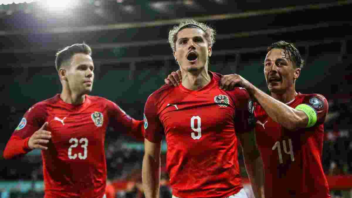 Австрія остаточно сформувала заявку на Євро – суперник України позбувся 4 гравців