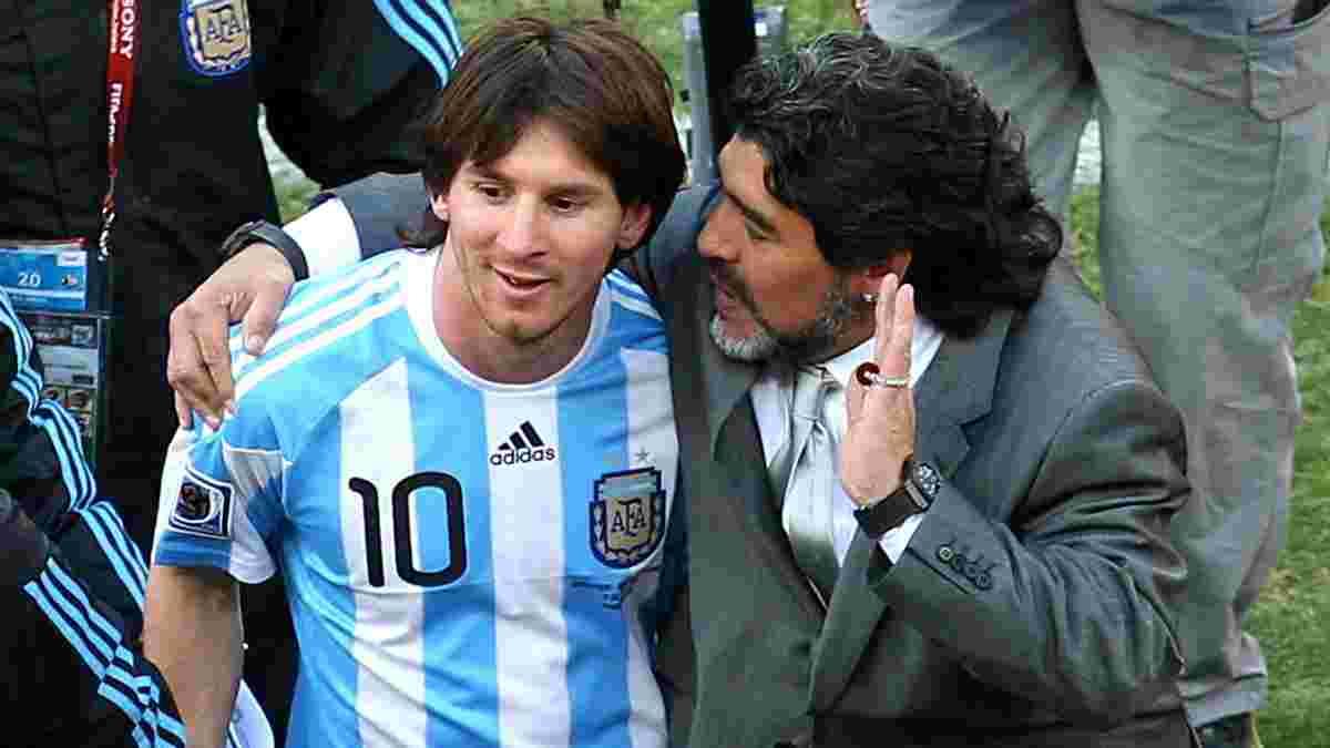 Маттеус назвав кращого гравця, ніж Марадона