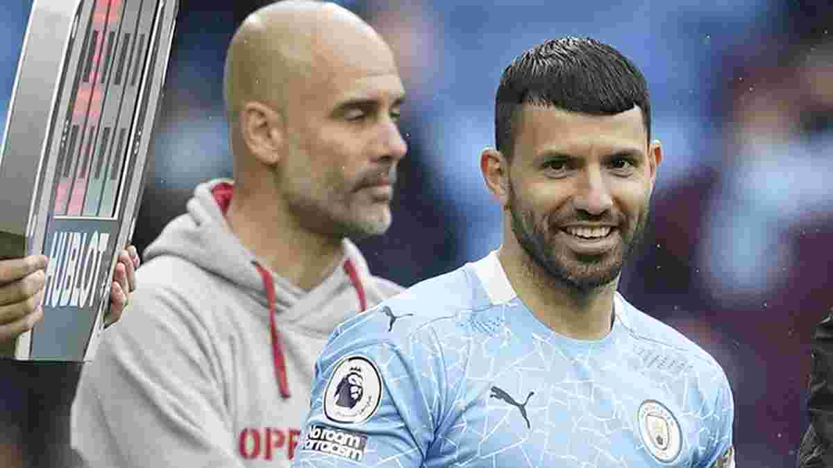 Агуеро образився на Гвардіолу через свій відхід з Манчестер Сіті