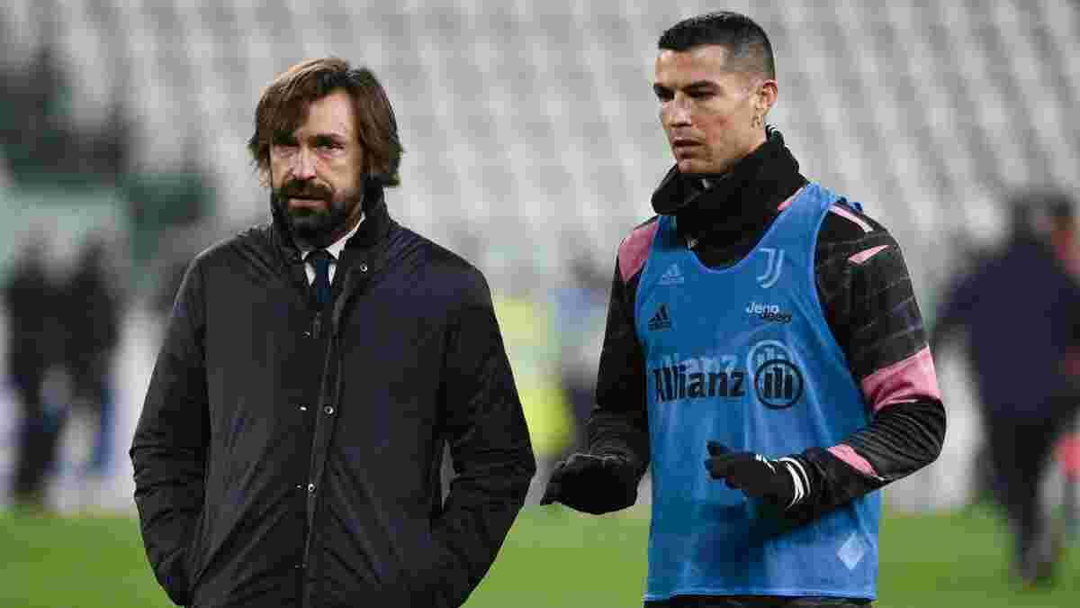 Роналду сядет за стол переговоров с Ювентусом – на будущее португальца может повлиять Пирло
