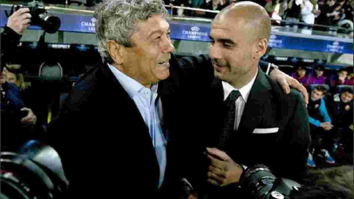 """""""Почав кричати на Барселону, Гвардіолу, на всіх"""": Луческу пригадав свої конфлікти з Пепом"""