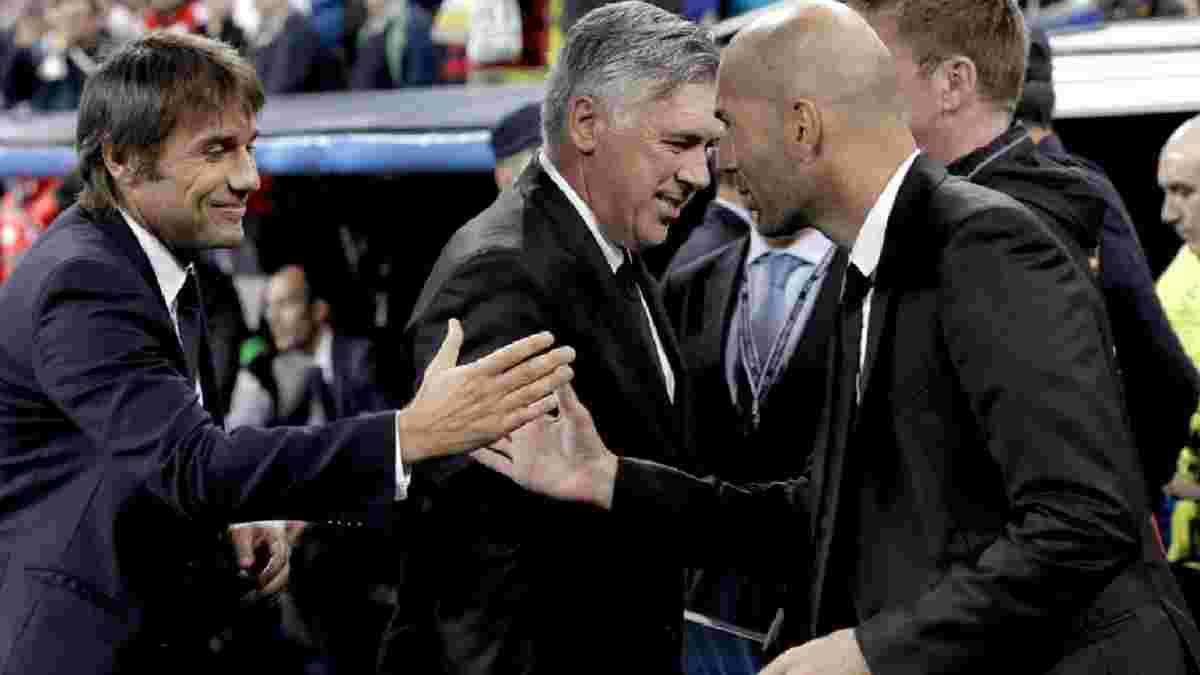 Конте и Реал контактировали, – экс-президент мадридского клуба
