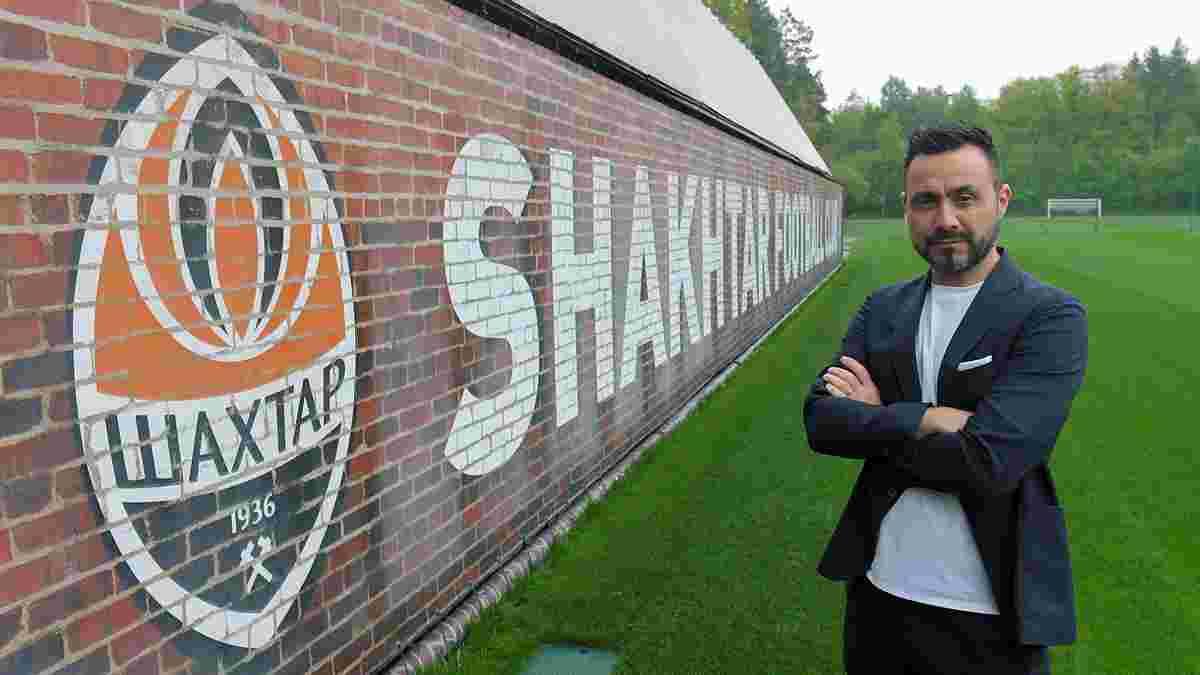 Де Дзербі призначив дату першого командного зібрання Шахтаря – новий тренер вже диктує свої умови