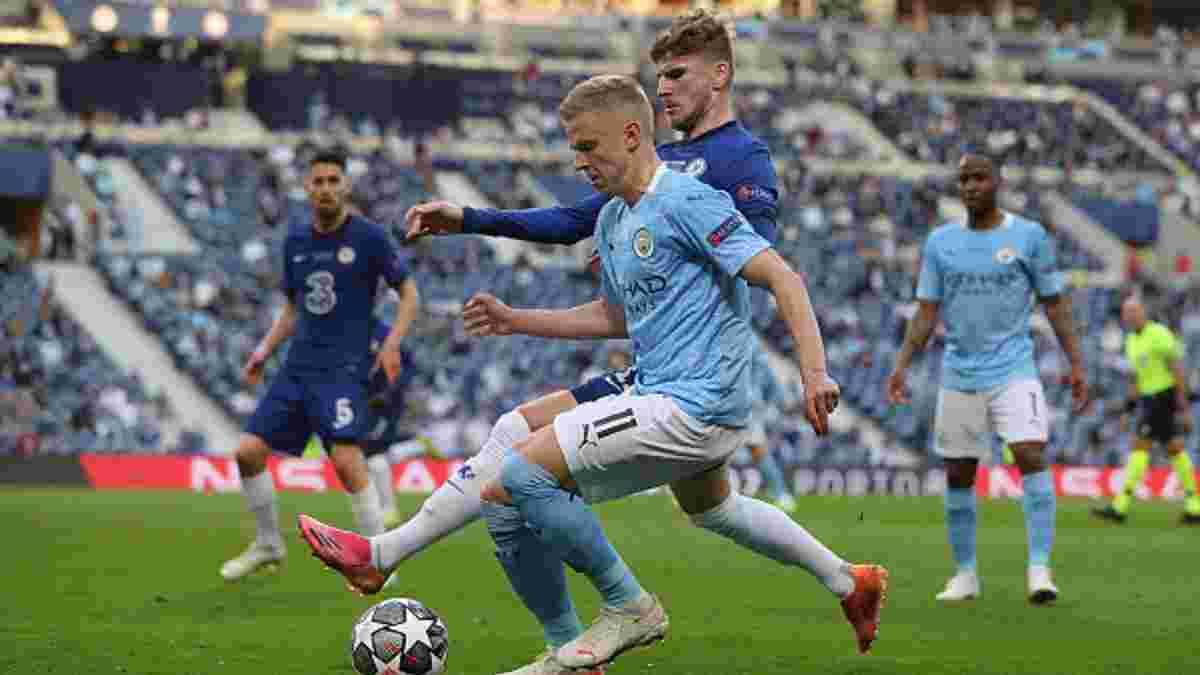 "Манчестер Сити – Челси: Зинченко провел 100-й матч за ""горожан"""
