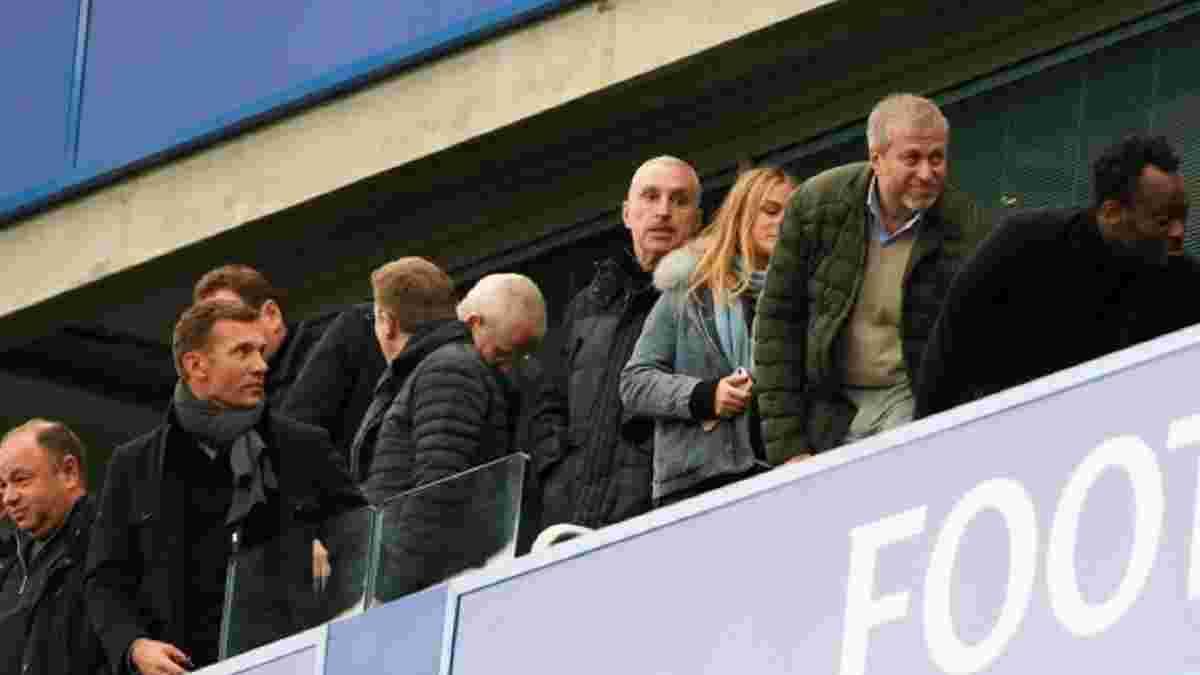 Манчестер Сіті – Челсі: Шевченко з Абрамовичем емоційно відсвяткували гол Хаверца – камери зафіксували епізод