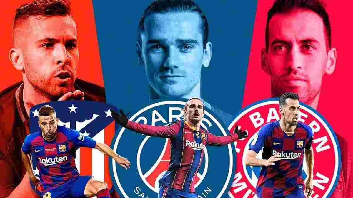 Барселона устраивает грандиозную чистку – каталонцы нашли клубы для пяти ненужных звезд