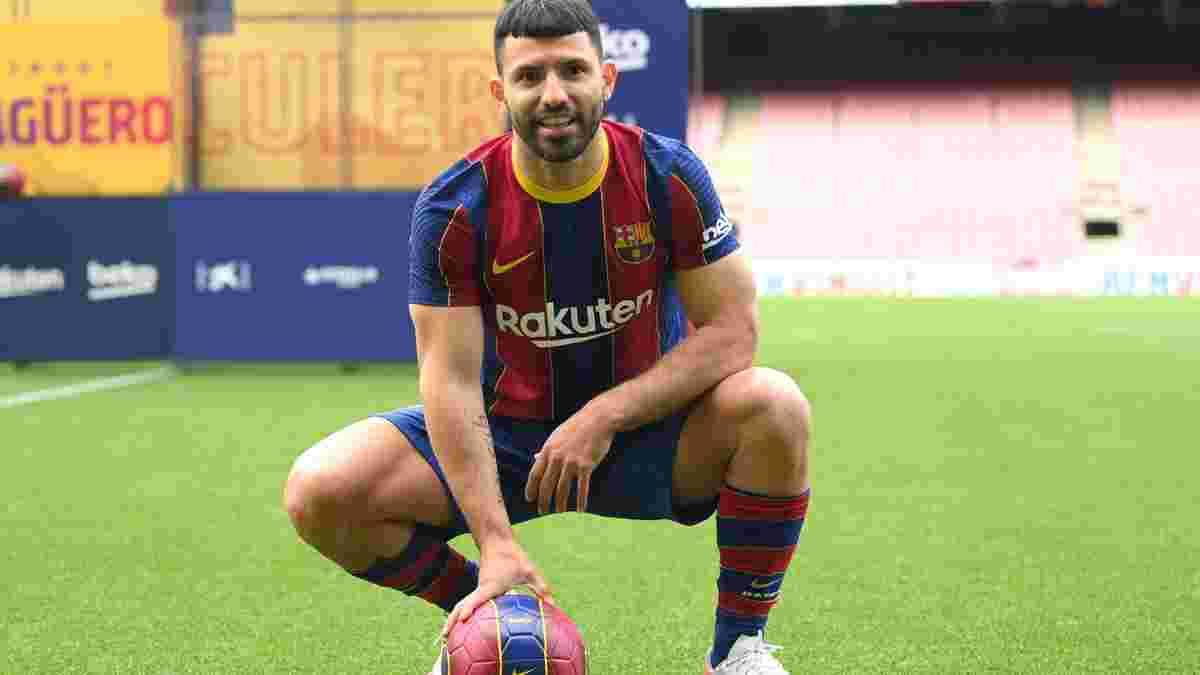 Агуеро офіційно перейшов у Барселону
