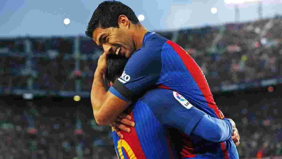 Суарес, которого выбросили из Барселоны, оценил трансфер Агуэро
