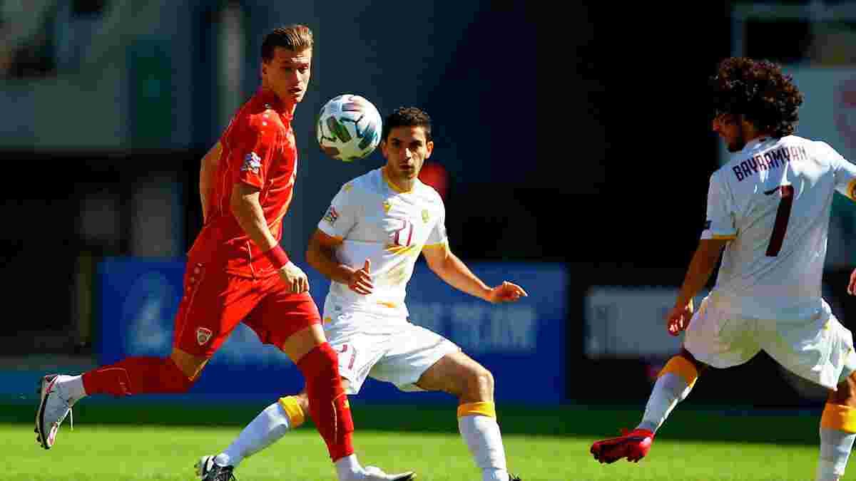 Північна Македонія розписала нічию зі Словенією – Аліоскі, Ельмас і Ко грають у симпатичний футбол, але Україна сильніша