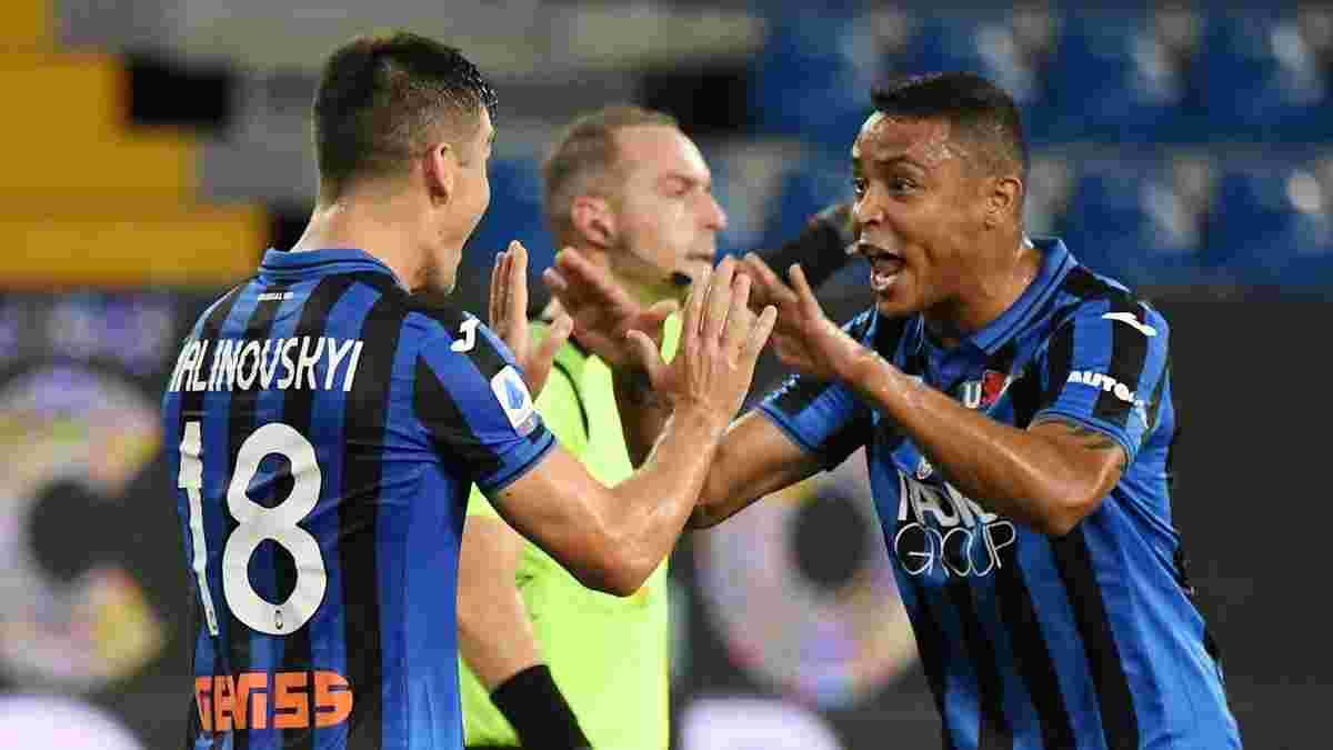 Малиновский оказался в топ-5 игроков Серии А по обводкам  – Роналду не нашлось места даже в десятке