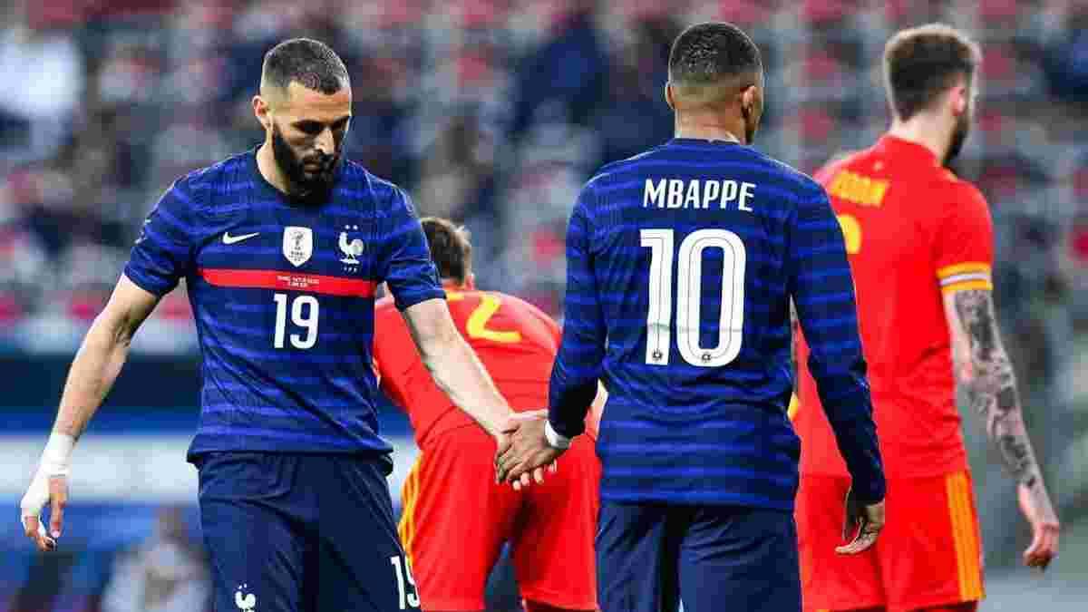 Шоу Мбаппе, Грізманна і Бензема у відеоогляді матчу Франція – Уельс – 3:0