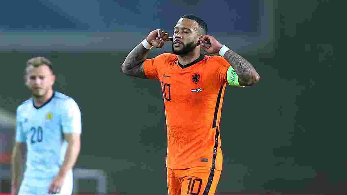 Депай залякує Україну шедевром – відеоогляд матчу Нідерланди – Шотландія – 2:2