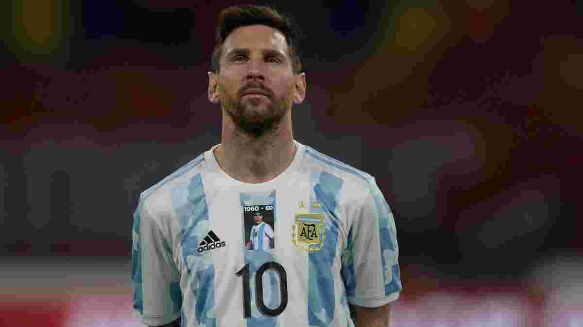 Месси догнал Ромарио по голам в официальных матчах, забив 2000-й мяч в истории отборов ЧМ в Южной Америке
