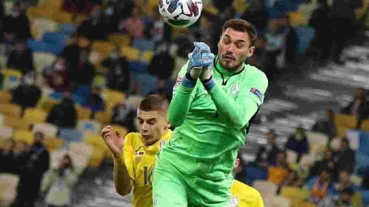 Рыбка назвал своего фаворита на место в рамке сборной Украины на Евро-2020