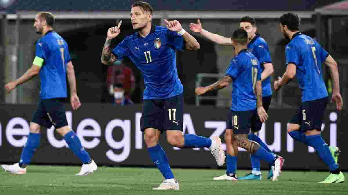 Історичний рекорд у відеоогляді матчу Італія – Чехія – 4:0