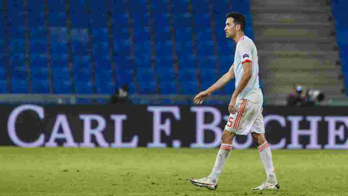 Бускетс заболел коронавирусом за 5 дней до начала Евро-2020 – Испания сыграет следующий спарринг молодежным составом