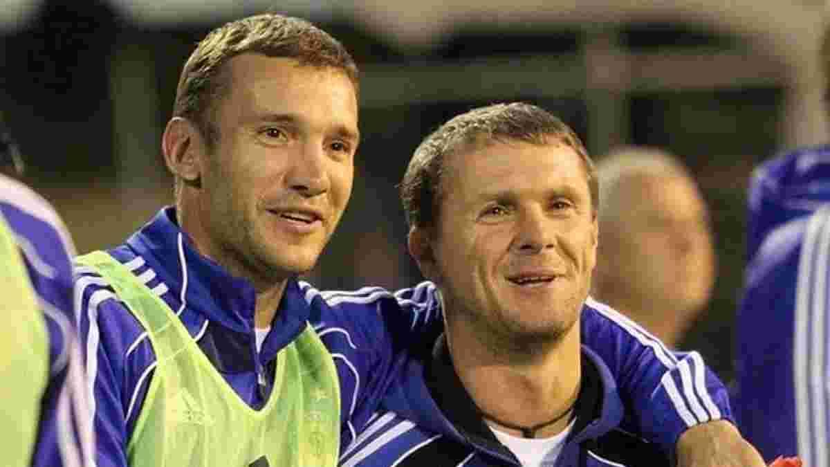 Ребров критично ответил на слухи о приходе в сборную Украины вместо Шевченко