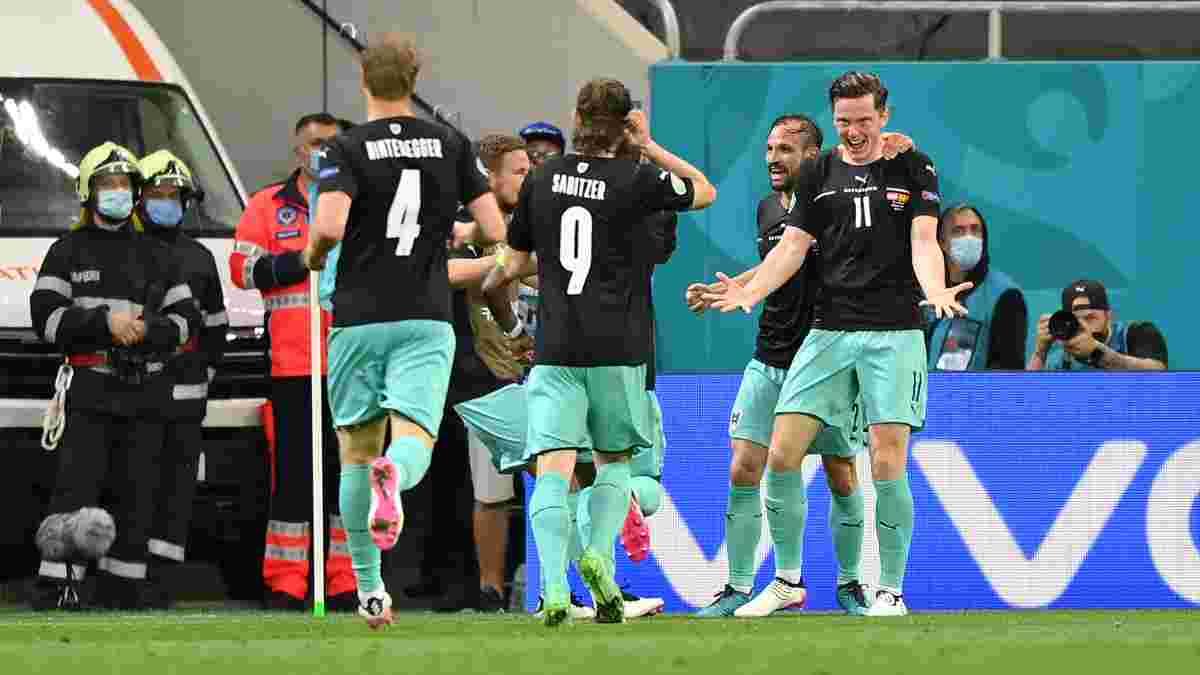 Австрия с голами джокеров дожала Северную Македонию – трусость тренера едва не повлекла фиаско Алабы и компании