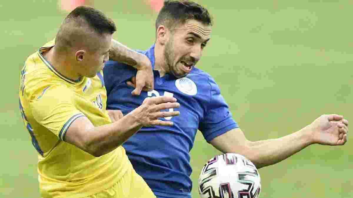 Бєлік: Футболісти Кіпру грали після кіпрських пляжів