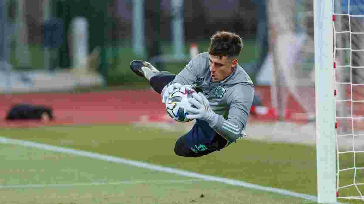 Кепа присоединился к сборной Испании, которая из-за коронавируса тренируется двумя составами