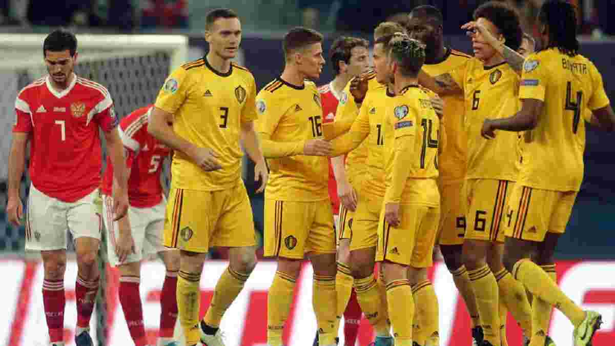 Бельгія – Росія: онлайн-трансляція матчу Євро-2020