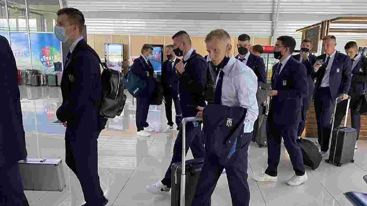 Збірна України приміряла нові костюми і провела фотосесію перед вильотом на Євро – стильні кадри
