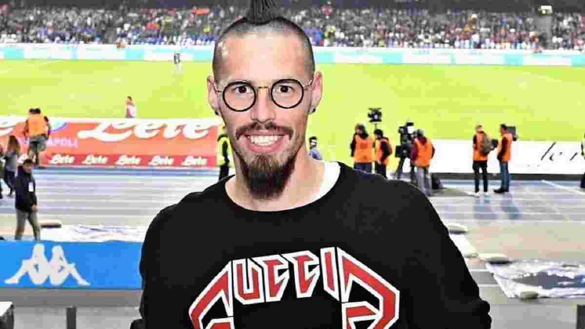 Гамшік став гравцем Трабзонспора – ефектна презентація легенди Наполі