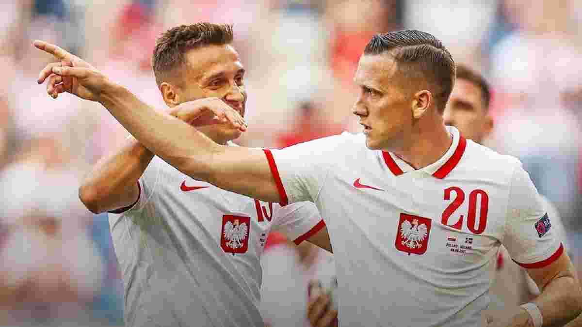 Польша расписала боевую ничью с Исландией в последнем спарринге перед Евро-2020 – легионер Динамо провел весь матч