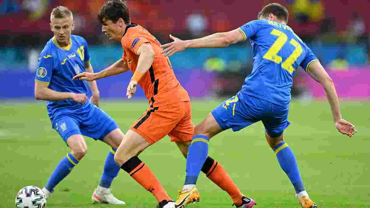 Нидерланды – Украина – 3:2 – видео голов и обзор матча