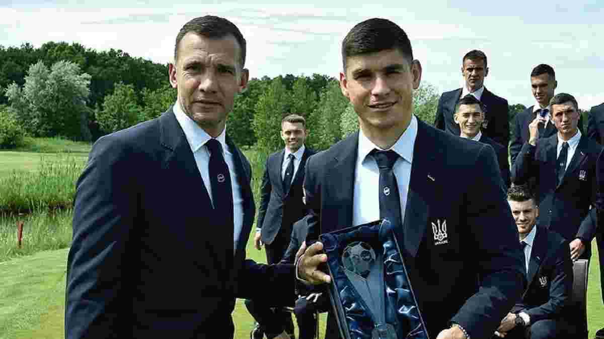 Шевченко выделил трех топ-игроков в сборной Украины