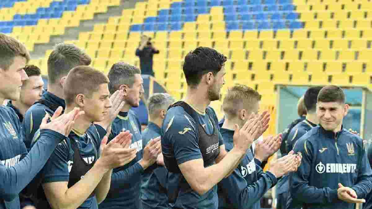 Збірна України провела дебютне тренування в Румунії – фото підопічних Шевченка
