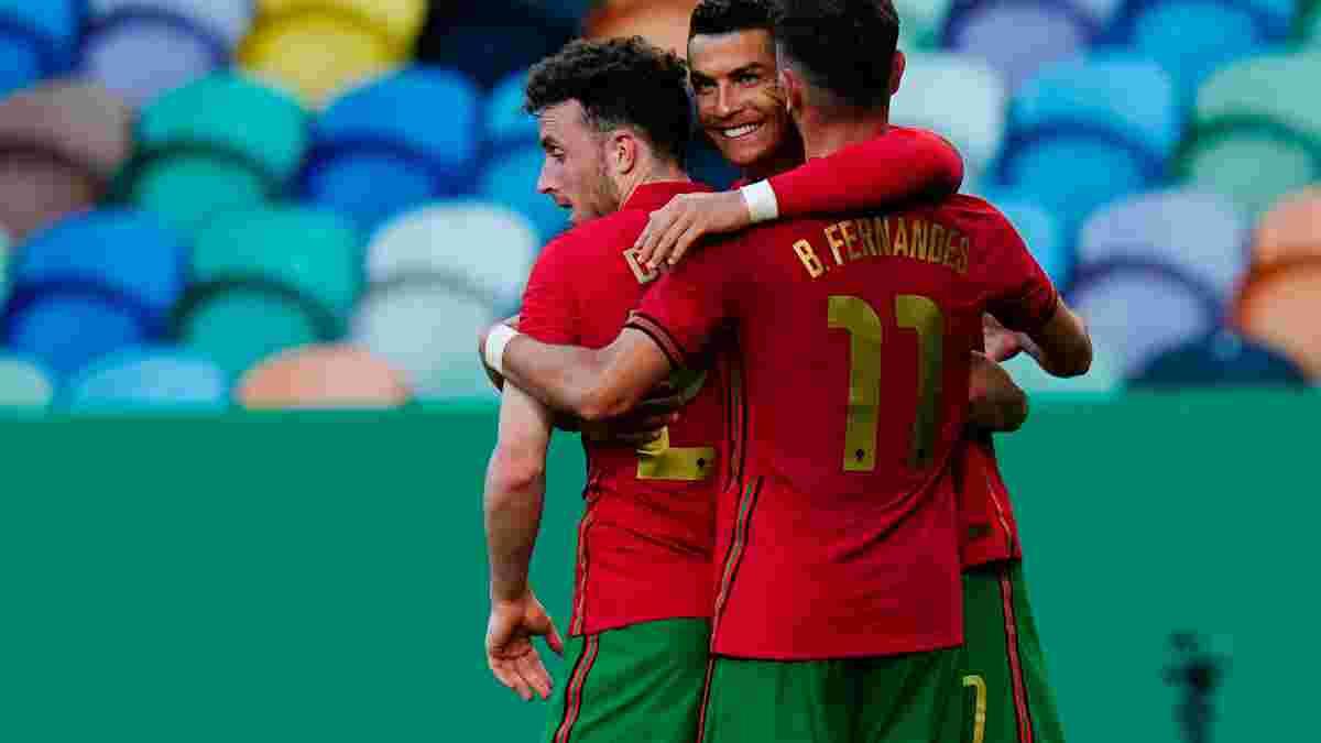 Португалія розгромила Ізраїль: Роналду наближається до рекорду, Канселу бронює місце у старті на Євро, а Фернандеш – MVP